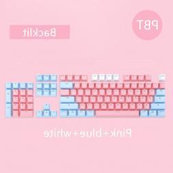 104 Keys/set PBT keycaps Double-shot <font><b>Mechanical</b>