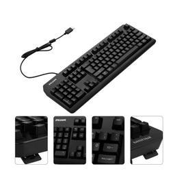 104 Keys USB Wired Gaming Keyboard Driver Free for PC Mac La