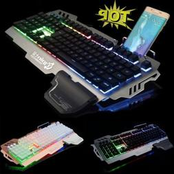104Key PK900 Waterproof Gaming Keyboard Mechanical 2500 DPI