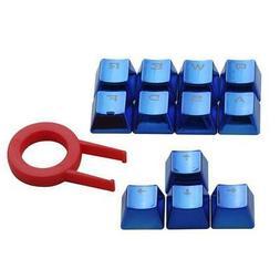 12 keys Mechanical Keyboard Keycaps Blue Double-shot Injecti