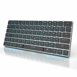 16mm Ultra-Thin Wireless Keyboard Mechanical Keyboard Taptek