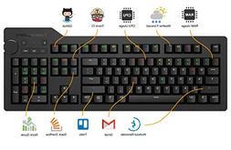 Das Keyboard 4Q Soft Tactile MX Brown RGB Smart Mechanical K