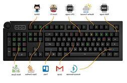 Das Keyboard 5Q Soft Tactile RGB Smart Mechanical Keyboard