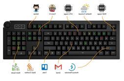 Das Keyboard 5Q: World'S First Smart RGB Mechanical Keyboa