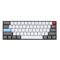 61 Key ANSI Layout OEM Profile PBT Thick Keycaps for 60% Mec