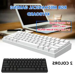 61 Keys Kailh BOX Switch 60% bluetooth4.0 Type-C RGB Mechani