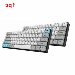 68 Keys Mechanical Keyboard Wireless Dual Mode Bluetooth Por