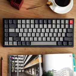 84 mini mechanical keyboard cherry mx clear switch brown PBT