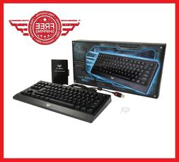 87 Keys Gaming Mechanical Keyboard with Blue Switches Wired