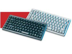 CHERRY G84 Ultraslim Keyboard, Black - 83 keys