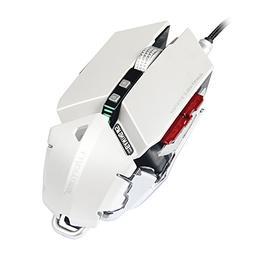 Runsen Adjustable Length Gaming Mouse 4000 DPI 10 Buttons Op
