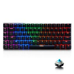 Ajazz AK33 RGB Mechanical Gaming Keyboard 82 Keys Tenkeyless