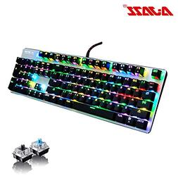 ajazz ak52 rgb mechanical gaming