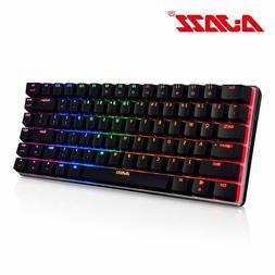 Ajazz AK33 82 keys mechanical keyboard English layout gaming