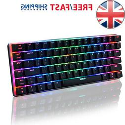 AJAZZ AK33 Mechanical Keyboard RGB LED 82 Keys for Gaming PC