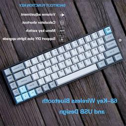 Akko 3068 PBT Silent Mechanical Keyboard Bluetooth Wireless