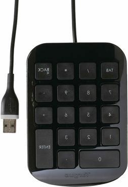Targus AKP10US Wired USB KeyPad Keyboard full-size  PC/MAC/N