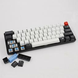 ANSI Layout PBT 61 Keycaps Set OEM Profile Thick Replacement