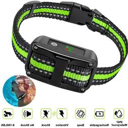 anti barking collar rechargeable dog no bark
