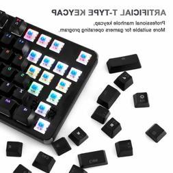 LESHP Backlight Gaming Mechanical Keyboard Full Size Keypad