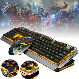 backlit mechanical keyboard wired usb illuminated ergonomic