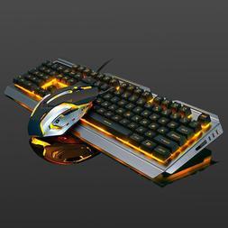 3af46e05d4a Backlit Mechanical Keyboard Wired USB Illuminated Ergonomic