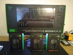 Razer BlackWidow Elite Green Switch Mechanical Gaming Keyboa