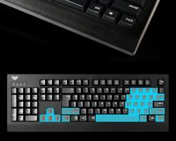 AULA Blue Backlit Mechanical Demon King  USB Gaming Keyboard