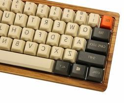 Carbon Keycap Set Thick PBT OEM Profile For MX Cherry Mechan