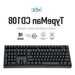 iKBC CD108 v2 Mechanical Keyboard with Cherry MX Brown Switc
