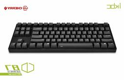 iKBC CD87 PBT Tenkeyless Mechanical Gaming Keyboard with Che