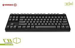 iKBC CD87 PBT Tenkeyless Mechanical Gaming Keyboard with Che
