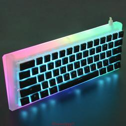 CNC Acrylic Diamond RGB Gateron Programmable 61 Mini Mechani