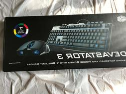Cooler Master Devastator 3 Gaming Combo Keyboard US Mouse 7