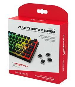 HyperX Double Shot PBT Keycaps - 104 Mechanical Keycap Set -