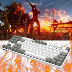 DURGOD Cherry MX 87 Keys PBT Keycaps Mechanical Keyboard K32