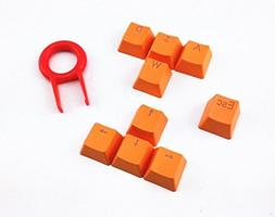 E-Element Orange Doubleshot PBT Keycaps - 9 Translucidus Bac