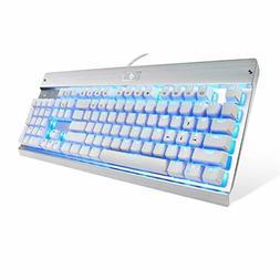 eagletec kg011 mechanical keyboard blue switches 104
