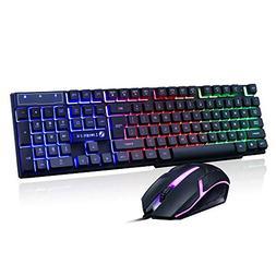 Expxon!! Keyboard, Mechanical Gaming Ultimate Backlit Keyboa