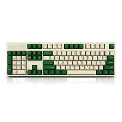 Leopold FC900R White/Green PD  Keyboard