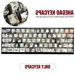Fit 61-108 Key Ahegao OEM PBT Thick Keycaps Set For MX Mecha