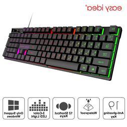 Wired Gaming <font><b>Keyboard</b></font> Imitation <font><b