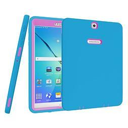 Galaxy Tab S2 9.7 Case, Beimu 3 in 1 Shockproof Heavy Duty R