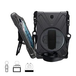 Galaxy Tab S4 10.5 Case,ZERMU Heavy Duty Three Layer Shockpr