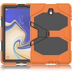 Galaxy Tab S4 10.5 Case, ZERMU Heavy Duty Kickstand Shockpro