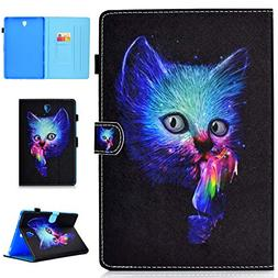 Galaxy Tab S4 10.5 Case, ZERMU Shockproof Premium PU Leather