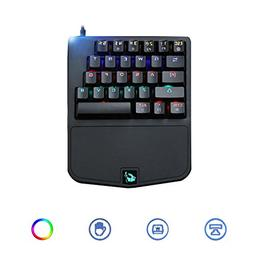 Game Keyboard,【Colors Backlit LED Keyboard-K9 Wired 28 Key
