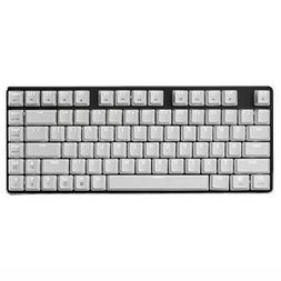 Qisan game mechanical keyboard CherryMX brown axis white wit