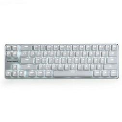 Qisan game mechanical type keyboard wired Cherry MX Brown ax