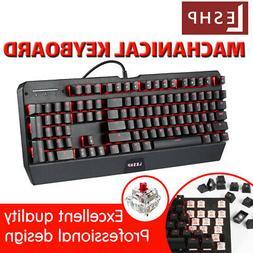 Gaming Keyboard Backlit PC Mechanical Illuminated Backlight